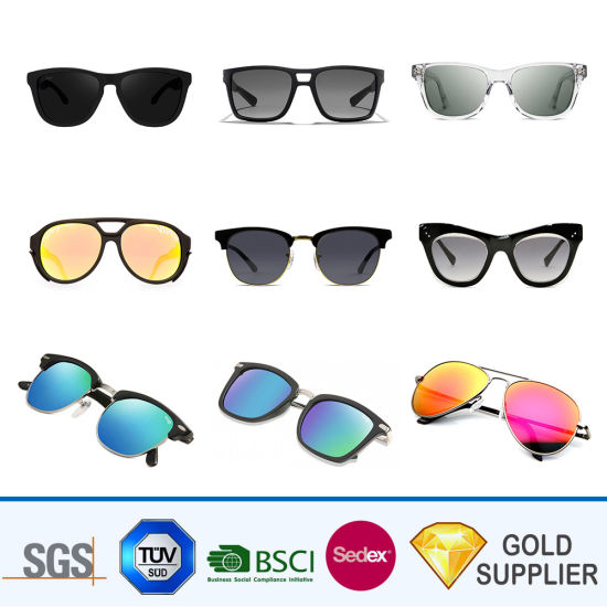 4aa06054481 High Quality Bulk Cheap Custom Make Your Own Trendy Unisex Foldable Visor  Recycled Frameless Promotion Sunglasses