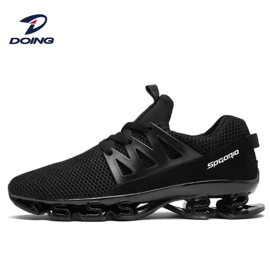 New Fashion Top Quality China Factory Best OEM Custom Logo Mesh Upper Casual Brand Men Sneakers Running Blade Air Sport Shoes