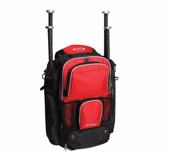 Large Capacity Baseball Bat Bag Backpack for T-Ball Softball Equipment Gear for Kids, Youth, and Adults