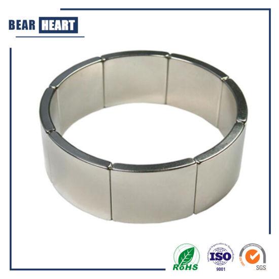 High Quality Strong Arc Segment Rare Earth Permanent NdFeB Neodymium Magnets