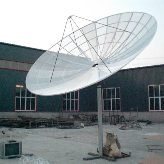 5m 500cm Big Satellite Aluminum Mesh Dish Antenna (BT-681-500) pictures & photos