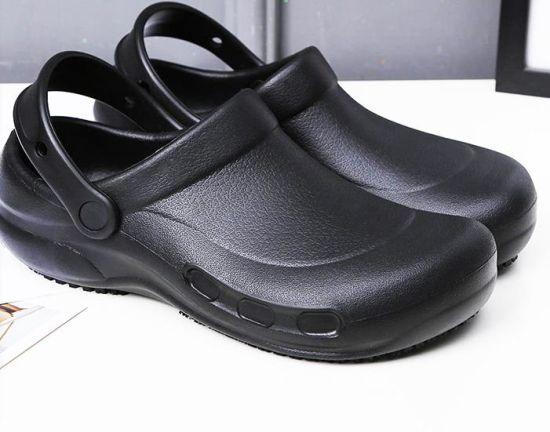 good quaity hot sale best chef clog best kitchen shoe safety shoe anti skid shoe anti skid clog - Best Kitchen Shoes