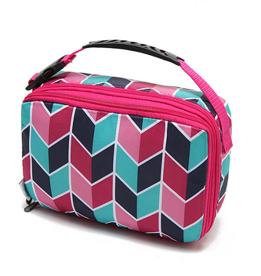 BSCI Audit Full Printing Insulated Cooler Bag Food Lunch Bag