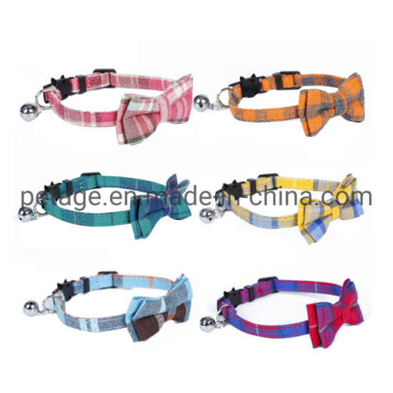 Dog Holiday Christmas Products PU Leather Collars Pet Accessories