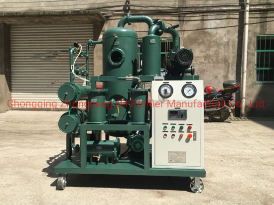 Factory Price High Quality Double Stage Vacuum Transformer Oil Purifier