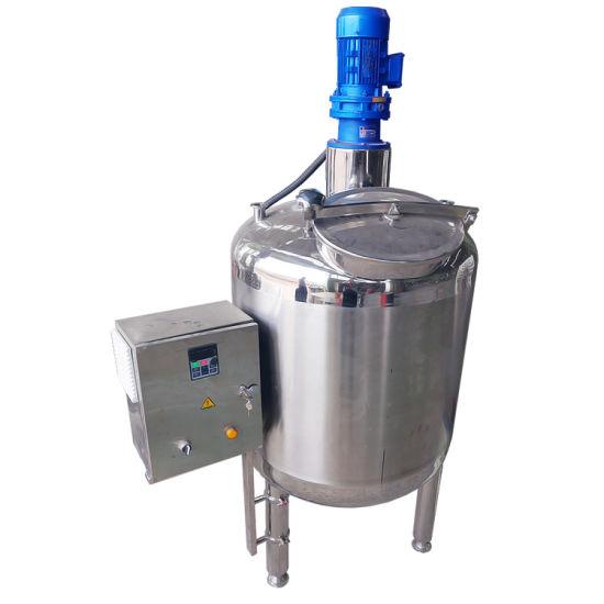 Sanitary Stainless Steel Quantitative Food Powder Agitator Tank Pulp Making Machine Mixer Price of