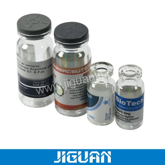 10ml Vials HGH Test with Custom Labels