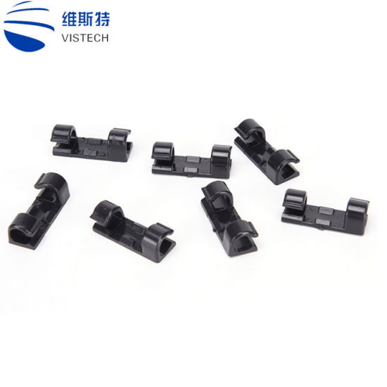 China Home Office Desktop Cable Clips Tie Mounts Cable Wire Storage Charger Cable Holder Clips Wiring Accessories China Desktop Cable Clips Cable Wire Storage