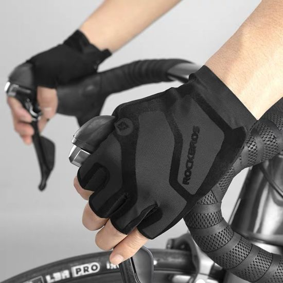 Cycling Gloves Summer Fingerless Gloves MTB Mountain Bicycle Gloves Sports