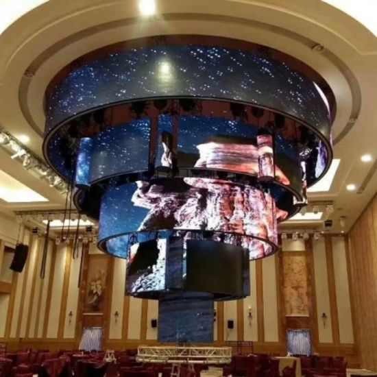 P3 Flexible LED Module Indoor LED Panel Full Color SMD Module LED Display Made in China