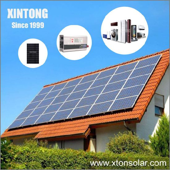 1kw 3kw 5kw High Power Grid Solar Power Home System with Aluminum Monocrystalline Solar Panels