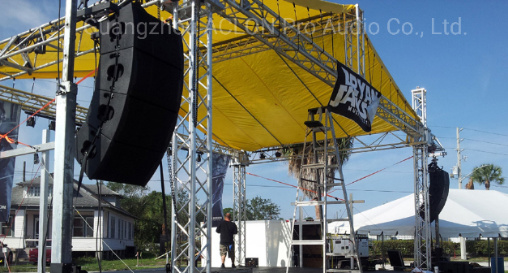 Professional PRO Audio High Powerful Plywood Ka 12 Inch Active DSP Line Array Speaker