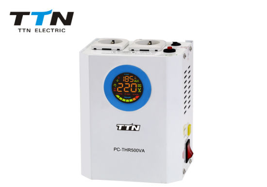 2000va Wall Mounted Relay Voltage Stabilizer AC Regulator for Gas Boiler