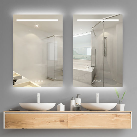 Wholesale LED Dressing Room Wall Mounted Frameless Mirror