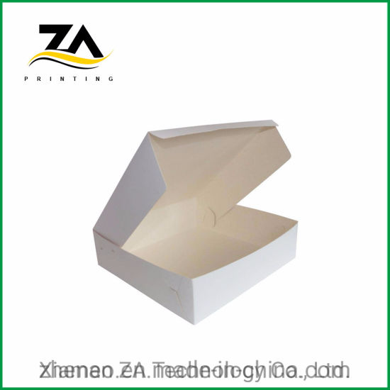 Wholesale Custom with Clean Window Cake Paper Box for Packaging