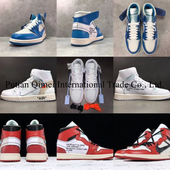 Cheap Wholesale off White Air-Jordan Joint Ow Aj1 Putian Shoes