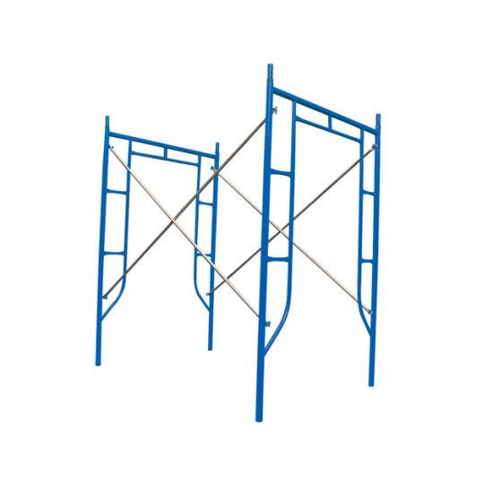 Construction Steel Walk Through Scaffolding Frame System (HF1930) , Guangzhou Manufacturer