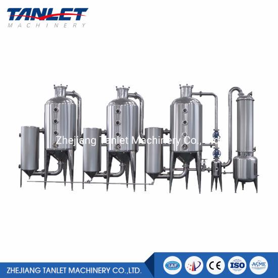 Triple Effect Vacuum Juice Ethanol Recover Concentrator