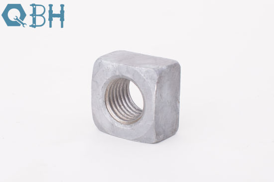JIS B 1163 Stainless Steel/Carbon Steel/Brass Single Chamfer Square Nut