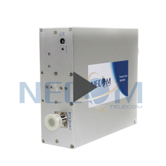 Cellular Signal Booster Coverage Range 500-1000 Square Meters 23dBm Tri-Band Frequency Booster