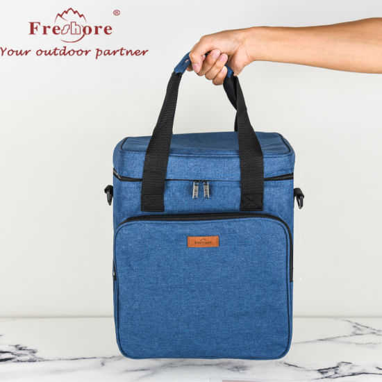 Popular Insulated Wine Carrying Case with Protective Layer and Insulated Pearl Cotton
