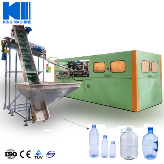 100ml-5L Bottle Blowing Moulding Making Machine / Pure Water Beverage Bottle Blow Molding Pet Plastic Machinery Price pictures & photos
