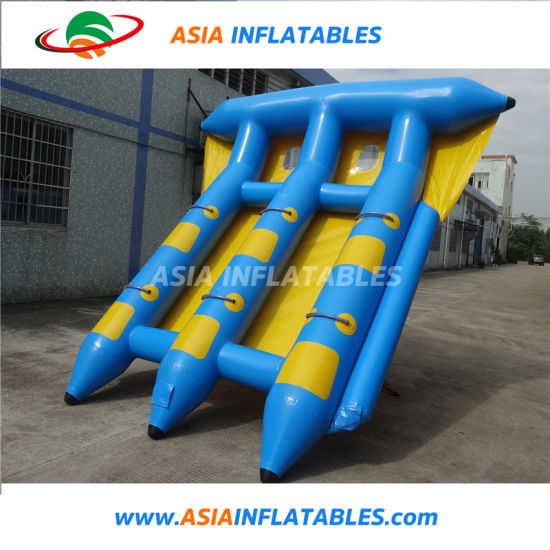 China Towable Tube Inflatable Flying Banana Boat Fly Fish