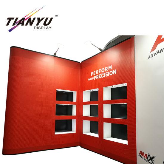 Trade Show Expomax Aluminum Floor Standing Make up Pop up Display
