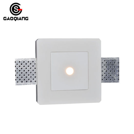 Embedded Down Lamp, Household LED Lighting, Plaster, GU10/MR16, Gqd8001A pictures & photos