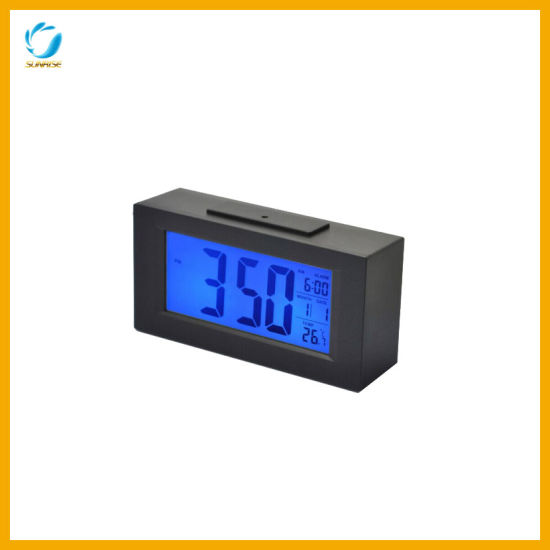 Hotel Digital Alarm Clock with LCD Display