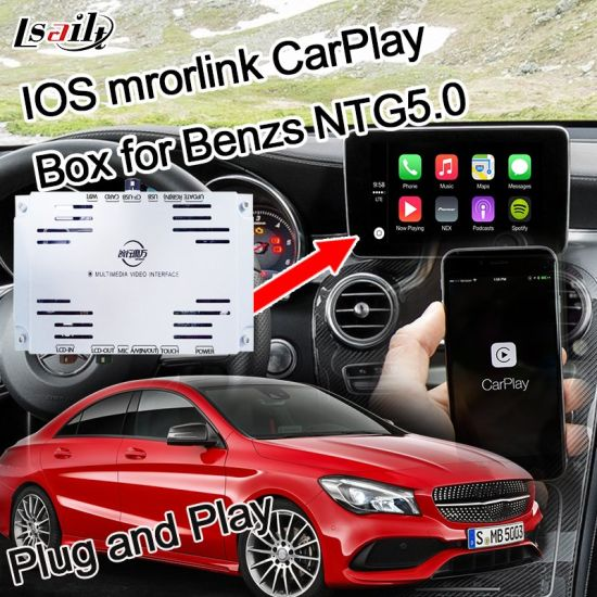 Plug&Play Apple Carplay Module for Benz C/B/a/E/Glc/Cla/Gle Ntg5.0 with WiFi Bluetooth Handsfree Siri Command Miracast pictures & photos