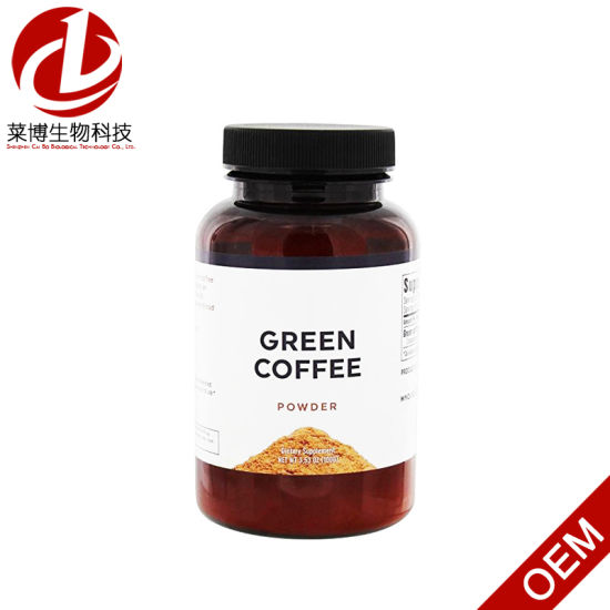China Hot Selling Slimming Lose Weight Capsule Green Coffee Bean