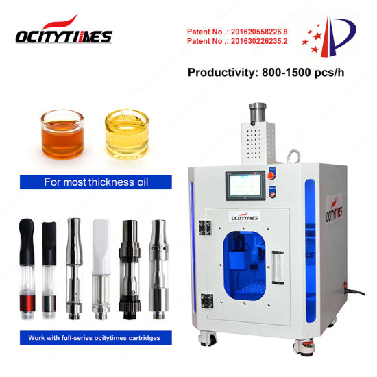 Ocitytimes F4 Automatic Cbd Liquid Filling Machine for Cartridges