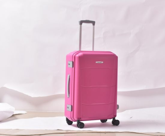 New Style on PP Suitcase Cheap Hard Shell Luggage pictures & photos