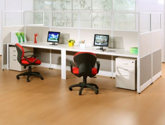 Inexpensive Modern Office Cubicles Modular 8 Seats