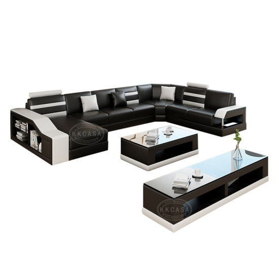 Modern Sectional Furniture Comfortable Soft Leather Sofa