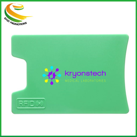 RFID Blocking ID Credit Card Holder Passport Security Protector Anti Theft RFID Credit Card Shield