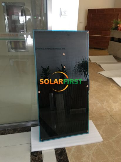 80W Thin Film Transparent Amorphous Silicon Solar Panel pictures & photos