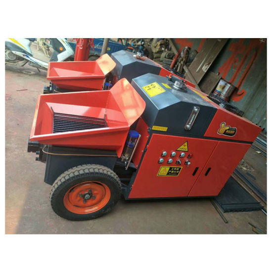 China Brand New Small Reed Concrete Pump for Sale in Philippines