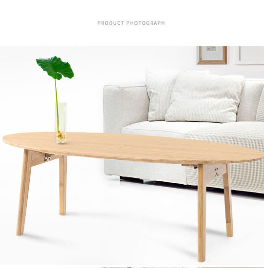 Natural Color Bamboo Folable Leisure Table pictures & photos