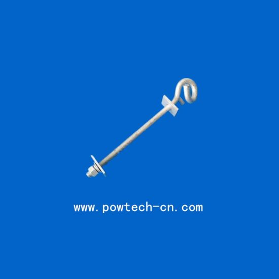 Hot Selling Galvanized Bolt for Fixing Cable Clamp on The Pole