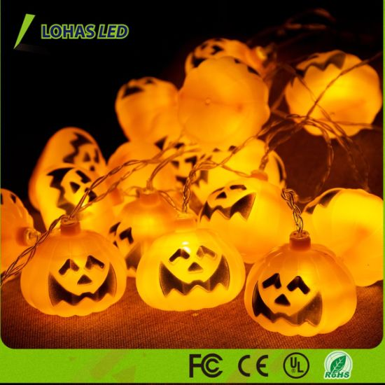 Decoration Light Halloween Pumpkin LED String Light pictures & photos