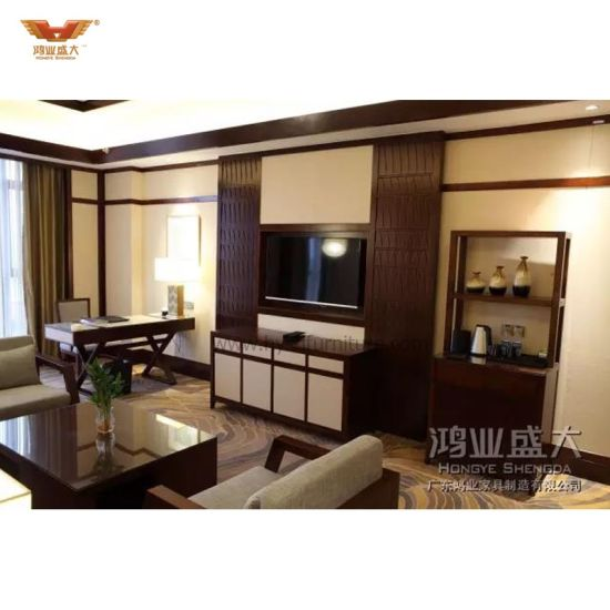 Modern Hotel Furniture Bedroom Set (HY-031) pictures & photos