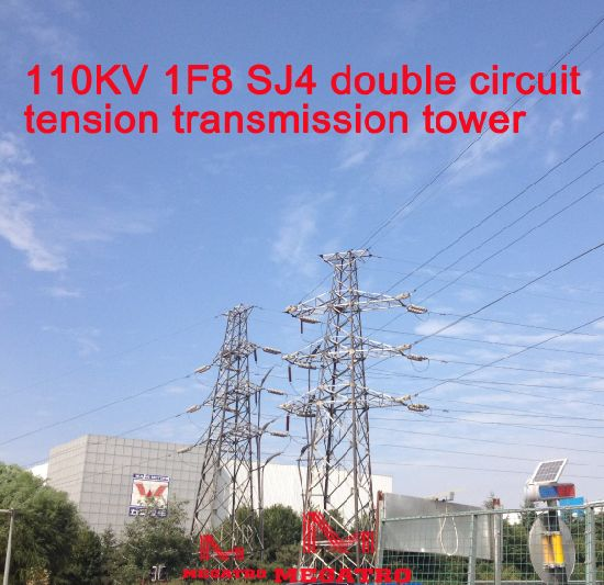 China Megatro 110kv 1f8 Sj4 Double Circuit Tension