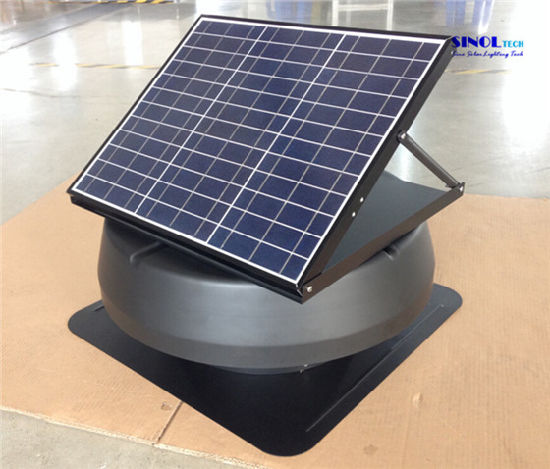 14inch 30w Solar Ed Exhaust Ventilator For Roof Sn2017008
