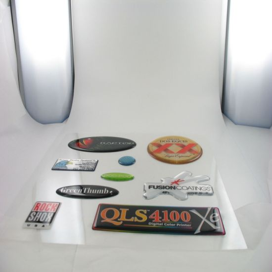 3D Dome Sticker Resin Label (GL-C0027) pictures & photos
