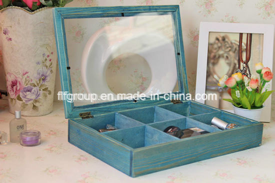 Eco-Friendly Customized Classical Design Wooden Case for Perfume Storage