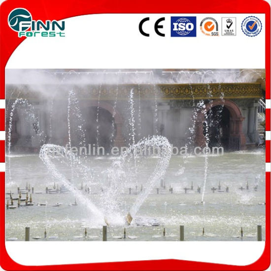 Seagull Shape Overwater Ornamental Water Feature Musical Moving Fountain pictures & photos