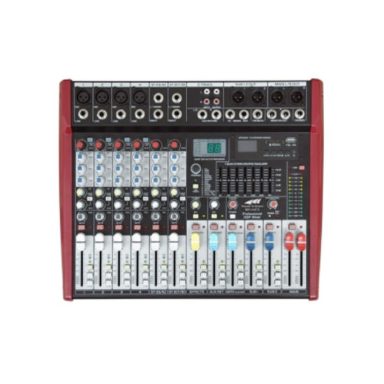 New Arrival Mr Series Audio Mixer with DSP Mr-08fx