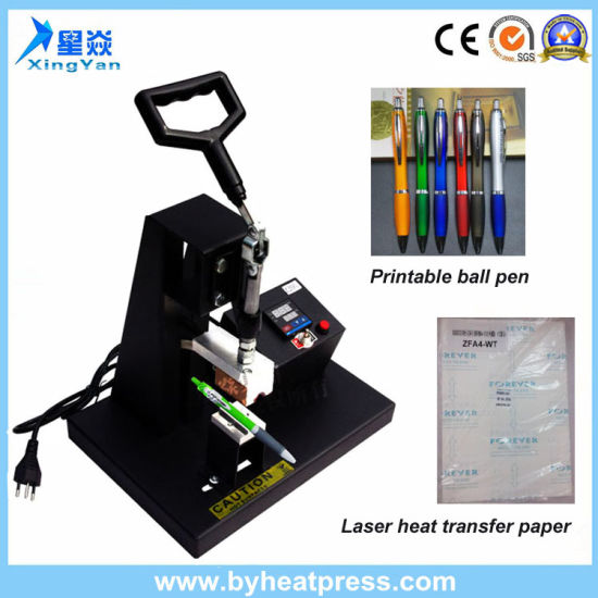 Ce Approved Digital Printer Pen Heat Press Machine